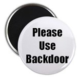 Please Use Backdoor Magnet