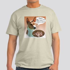 Basenji Turkey Light T-Shirt