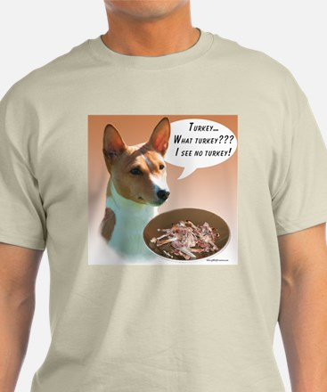 Basenji Turkey T-Shirt
