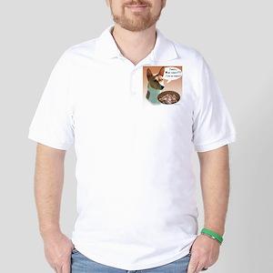 Basenji Turkey Golf Shirt