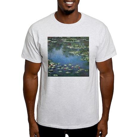 Waterlilies by Claude Monet White T-Shirt