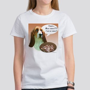 Basset Hound Turkey Women's T-Shirt