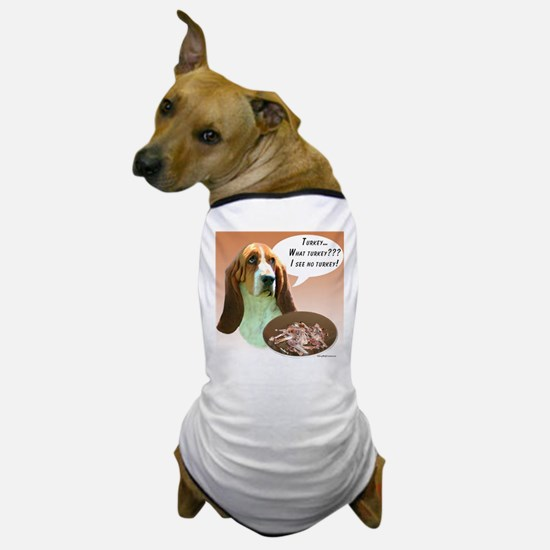 Basset Hound Turkey Dog T-Shirt