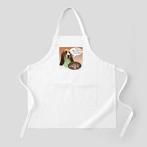 Basset Hound Turkey BBQ Apron