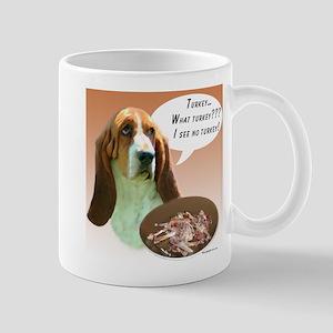 Basset Hound Turkey Mug