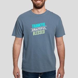 Thankful Grateful Blessed Light T-Shirt