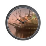 New Orleans Riverboat Wall Clock