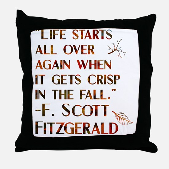 Funny American literature Throw Pillow