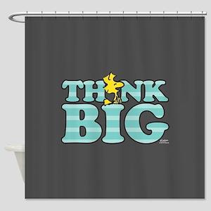 Woodstock-Think Big Shower Curtain