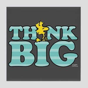 Woodstock-Think Big Tile Coaster
