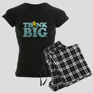 Woodstock-Think Big Women's Dark Pajamas