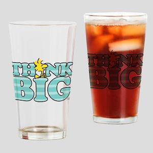 Woodstock-Think Big Drinking Glass
