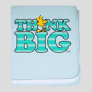 Woodstock-Think Big baby blanket