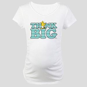 Woodstock-Think Big Maternity T-Shirt