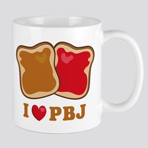 I Love PBJ 2 11 oz Ceramic Mug