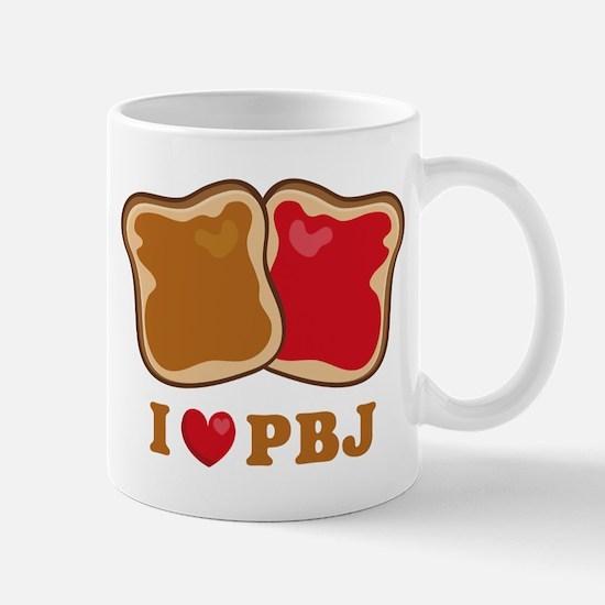 I Love PBJ 2 Mug