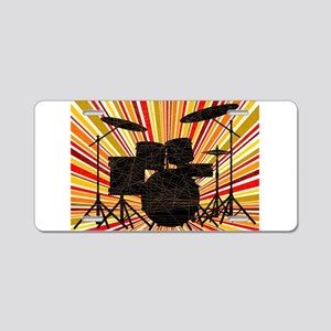 Jazz Drum Kit Aluminum License Plate