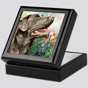 Labrador Painting Keepsake Box