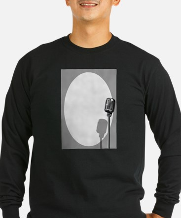 Musical Event Microphone Poste Long Sleeve T-Shirt