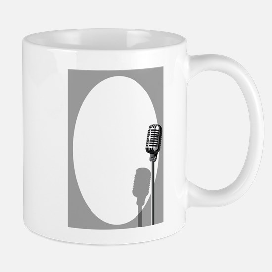 Musical Event Microphone Poster Mugs