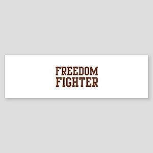 Freedom Fighter Bumper Sticker