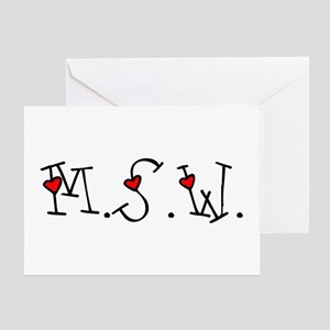 MSW Hearts Greeting Card