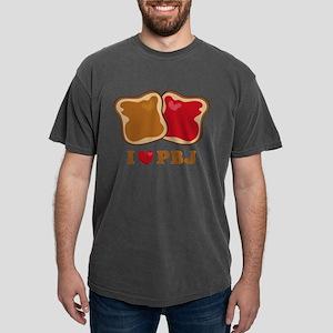 I Love PBJ 2 Mens Comfort Colors Shirt