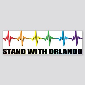 Stand With Orlando Sticker (Bumper)