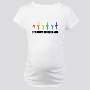 Stand With Orlando Maternity T-Shirt