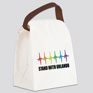 Stand With Orlando Canvas Lunch Bag