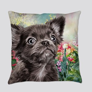 Chihuahua Painting Everyday Pillow