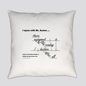 Enjoyment of Reading Everyday Pillow