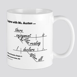 Enjoyment of Reading Mug