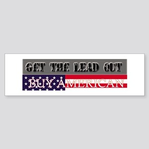 Get the LEAD out Bumper Sticker