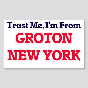 Trust Me, I'm from Groton New York Sticker