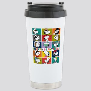 Snoopy-You Can Be Anyth Stainless Steel Travel Mug