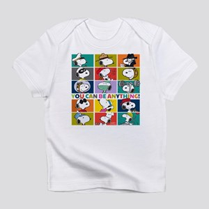 Snoopy-You Can Be Anything Infant T-Shirt