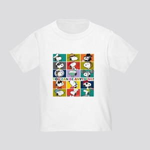Snoopy-You Can Be Anything Toddler T-Shirt