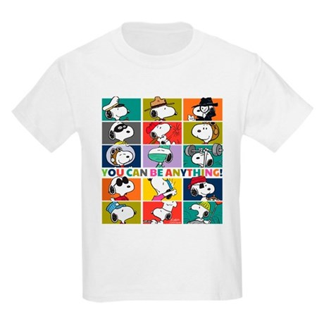 Snoopy You Can Be Anything Kids T-Shirt