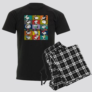 Snoopy-You Can Be Anything Men's Dark Pajamas