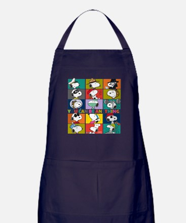 Snoopy-You Can Be Anything Apron (dark)