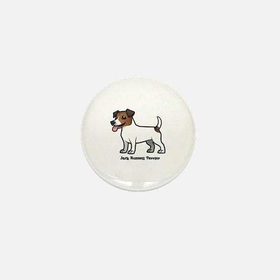 Unique Jack russell Mini Button