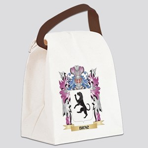 Brac Coat of Arms (Family Crest) Canvas Lunch Bag
