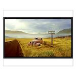 Nevada Desert - Small Poster