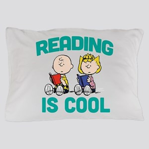 Charlie & Sally Brown-Reading is Cool Pillow Case