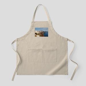 Oia Greece Santorini Island Travel Apron