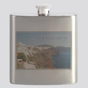 Oia Greece Santorini Island Travel Flask