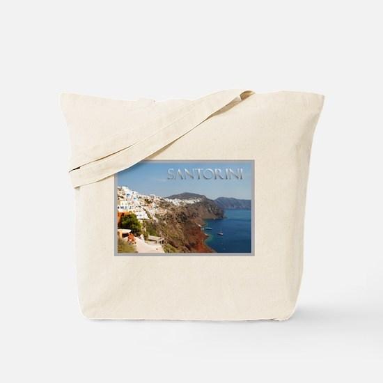 Oia Greece Santorini Island Travel Tote Bag