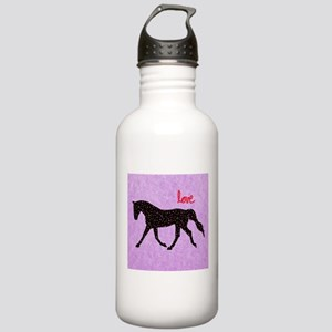 Horse Love and Hearts Stainless Water Bottle 1.0L