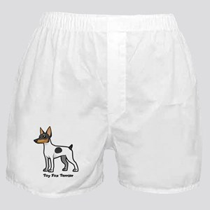 toy fox terrier Boxer Shorts